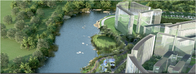 Hydraulic design for proposed waterfront at Lodha Palava