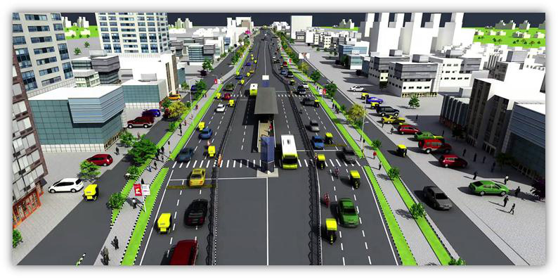 Project Showcase - Traffic & Transportation | Aakar Abhinav, Mumbai