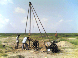 Geotechnical Investigation by Trial Pits (Benkalman  Beam Test, Roughness Survey)