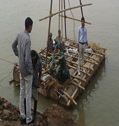 Geotechnical Investigation at Ganga River basin