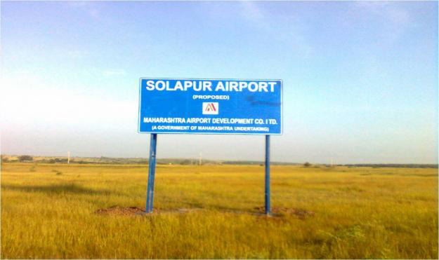 TOPOGRAPHIC SURVEY FOR NEW INTERNATIONAL AIRPORT SOLAPUR