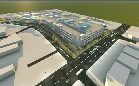Redevelopment of Lusaka City Market at Lusaka, Zambia as a part of Lusaka City Decongestion Project