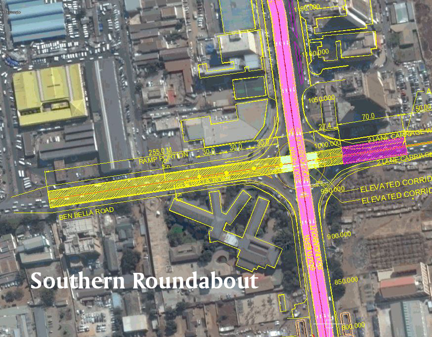 Pre-Feasibility Report & Preparation of the Walk Through for the Proposed Three Interchanges in Lusaka City, Zambia