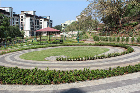 Garden Development at Nerul Sector 19a, ESR Plot