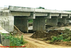 construction of Bridge  across Bennethorahalla