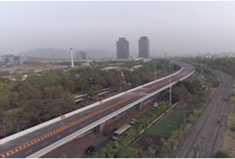 Flyovers at Thane Belapur Road, Navi Mumbai
